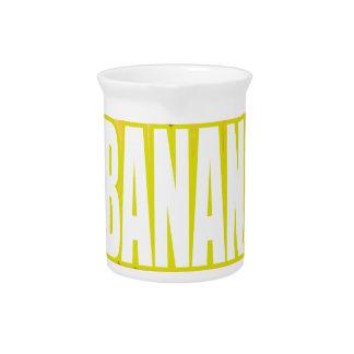 Bananas Yo de Dats Jarros Para Bebidas