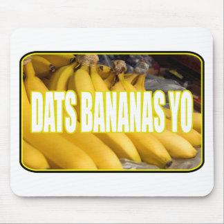 Bananas Yo de Dats Mouse Pad