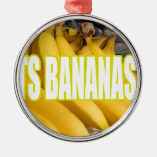 Bananas Yo de Dats Ornamentos Para Arvore De Natal