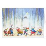 Banda da música do rato - o cartão das crianças