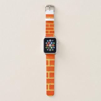 Banda de relógio de Apple da parede de tijolo