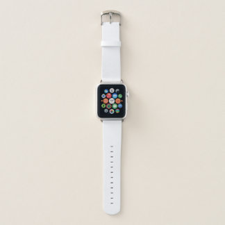 Banda de relógio de couro de Apple, 38mm