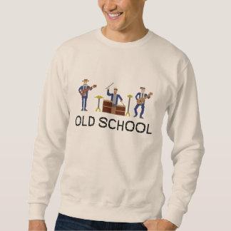 Banda de velha escola - camisola sueter