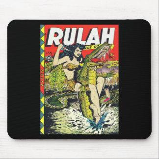 Banda desenhada do Rulah-Vintage Mouse Pads