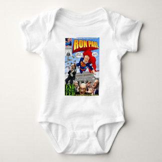 Banda desenhada do super-herói de Ron Paul Camiseta