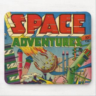 Banda desenhada dos aventureiros do espaço mousepad