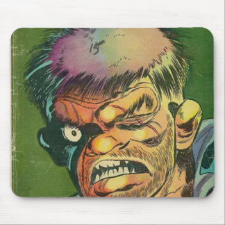 Banda desenhada óptimo do horror mouse pad