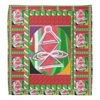 "BANDANA 19"" presentes curas dos símbolos de Karuna"