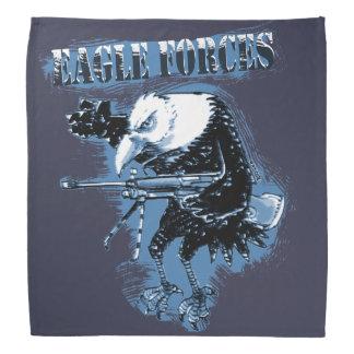Bandana a águia força o azul