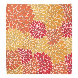 Bandana bonito do design floral