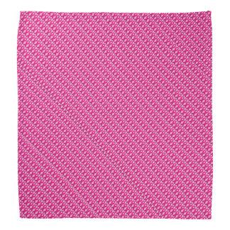 Bandana cor-de-rosa do cancro da mama