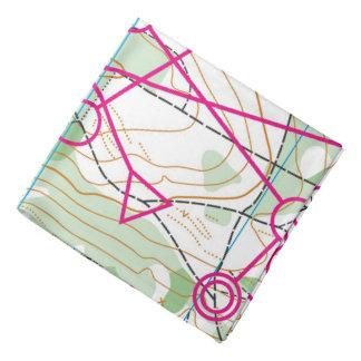 Bandana - curso de Orienteering