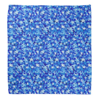 bandana das estrelas azuis