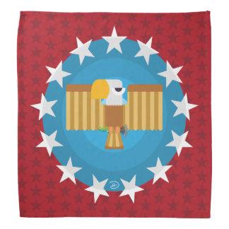 Bandana de Eagle da liberdade (vermelho) -
