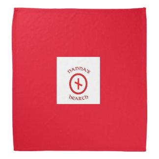 Bandana do logotipo da lareira de Nanna