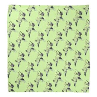 Bandana Luz - Humminbirds verde