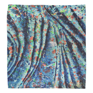 bandana marmoreado