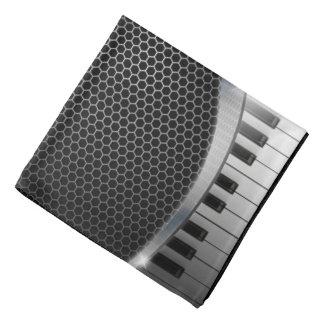 Bandana moderno do teclado