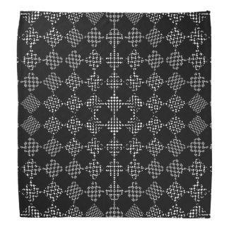 Bandana Ondeamento Checkered