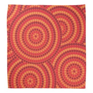 Bandana Pintura aborígene do ponto