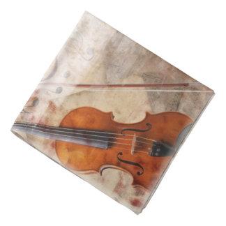 Bandana romântico do violino