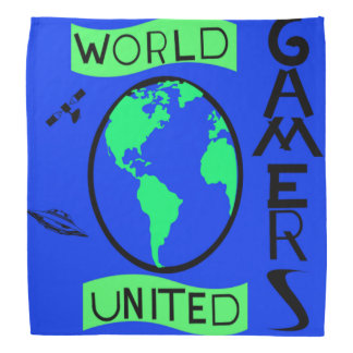 Bandanas unidos mundo dos Gamers