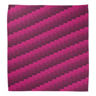 Bandanna do ™ de matéria têxtil (Fuchsian) Bandanas