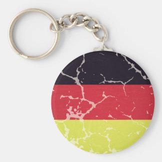 Bandeira Alemanha Envelhecida Chaveiro