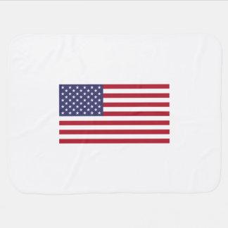 Bandeira americana cobertorzinhos para bebe