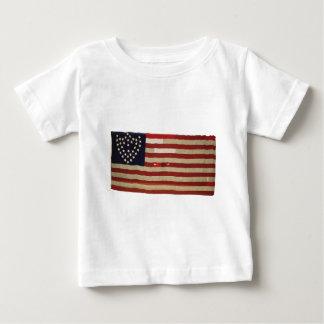 Bandeira americana com 36 estrelas t-shirt