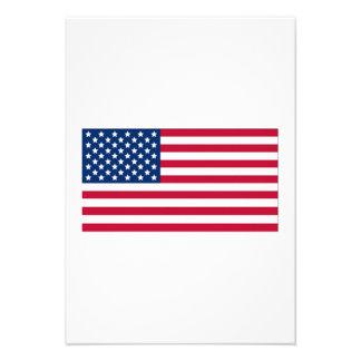 Bandeira americana convites