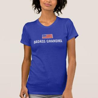 Bandeira americana da AVÓ de BADASS Tshirts