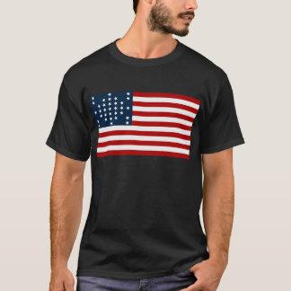 Bandeira americana da guerra civil de Sumter do T-shirt