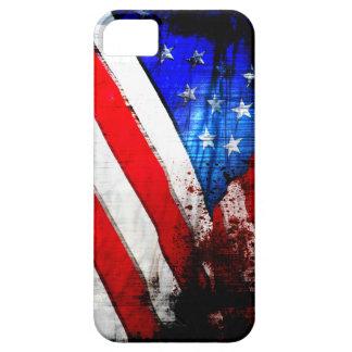 Bandeira americana do Grunge Capa Para iPhone 5