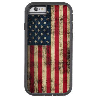 Bandeira americana do Grunge Capa iPhone 6 Tough Xtreme