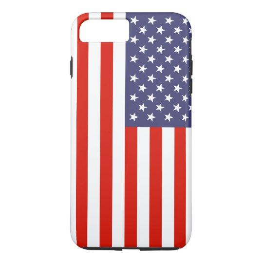 Bandeira americana patriótica personalizable capa iPhone 7 plus
