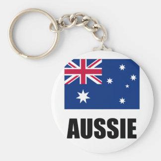 "Bandeira/""Aussie australianos "" Chaveiro"