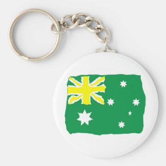 Bandeira australiana chaveiros