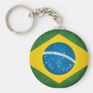 Bandeira brasileira chaveiros