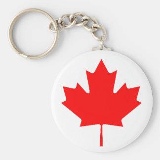 Bandeira canadense chaveiro