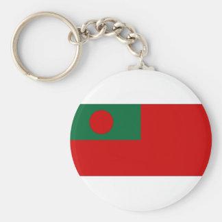 Bandeira civil da bandeira de Bangladesh Chaveiro