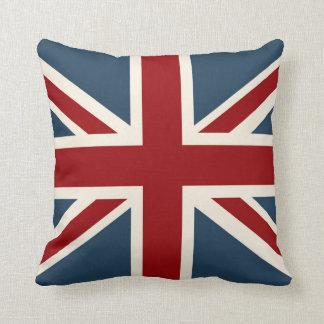 Bandeira clássica de Union Jack Almofada