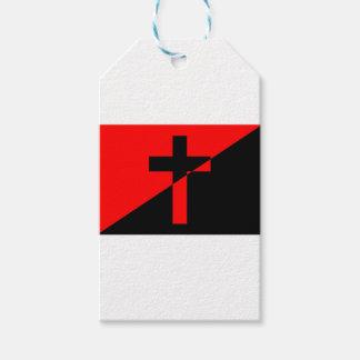 Bandeira cristã da cristandade da anarquia do