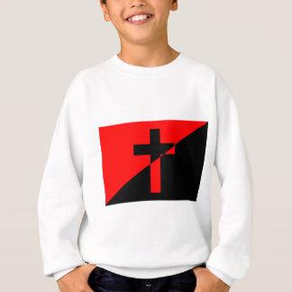 Bandeira cristã da cristandade da anarquia do t-shirts