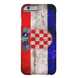 Bandeira croata capa iPhone 6 barely there
