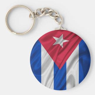 Bandeira cubana chaveiros