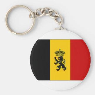 Bandeira da bandeira do governo de Bélgica Chaveiro