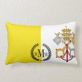 Bandeira da Cidade do Vaticano Almofada Lombar
