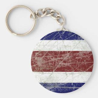 Bandeira da Costa Rica Chaveiros
