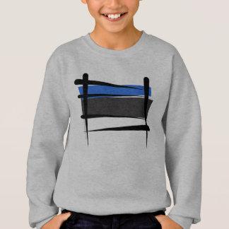 Bandeira da escova de Estónia Camiseta
